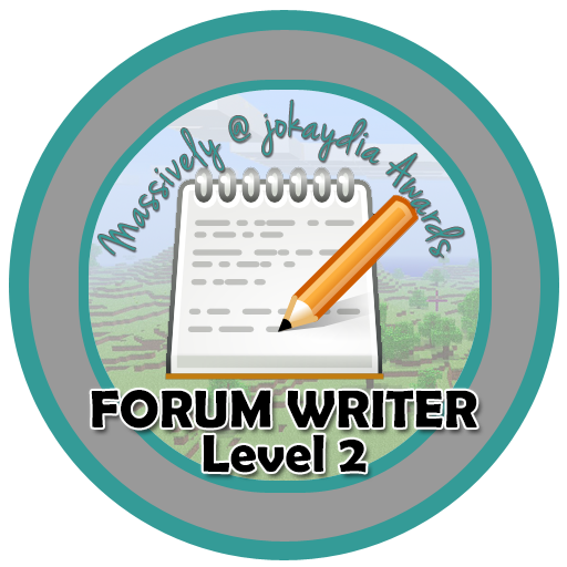 014. Forum Writer Level 2 – Welcoming Guild Members