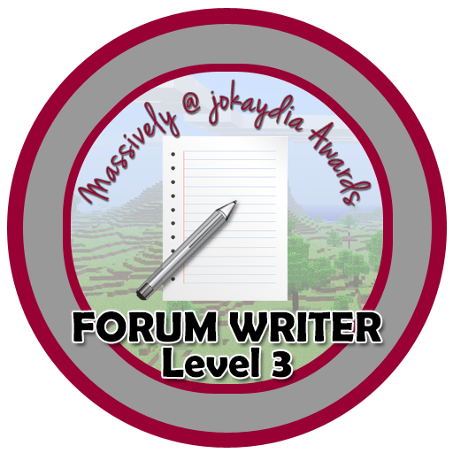 015. Forum Writer Level 3 – 10 Comments!