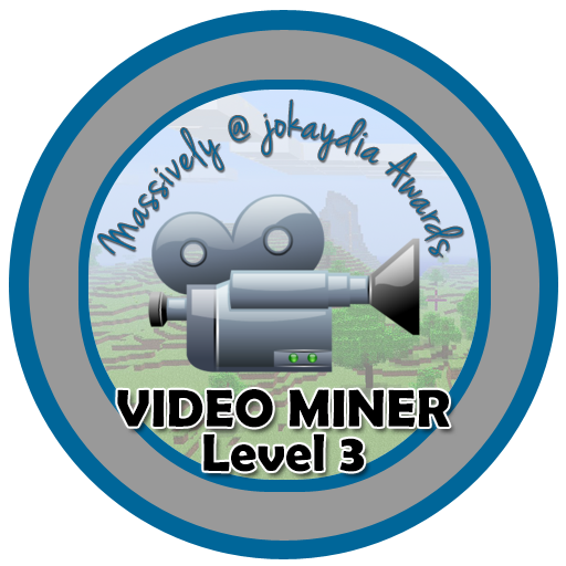 023. Video Miner Award Level 3 – Minecraft Film-maker