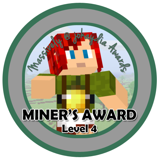 031. Miner's Award Level 4 – Team Builder