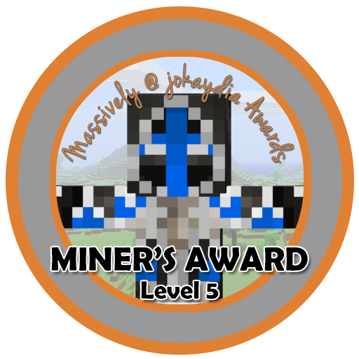032. Miner's Award Level 5 – Building for the Community