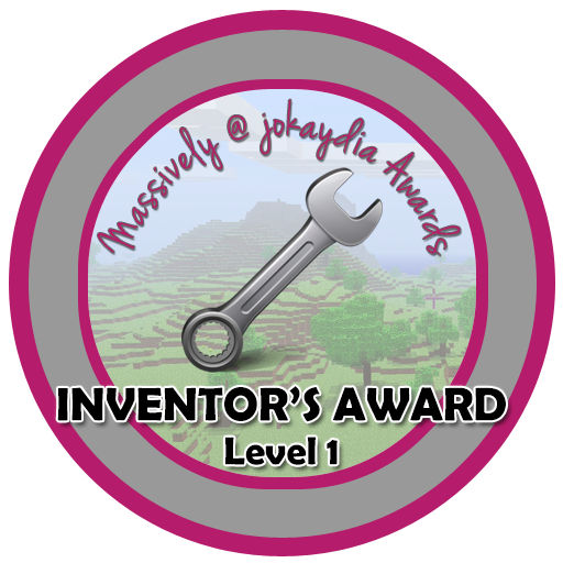 033. Inventor's Award Level 1 – Pistons, Water, Redstone or Lava