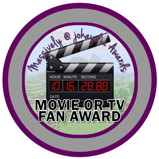 122. Movie or TV Fan Award