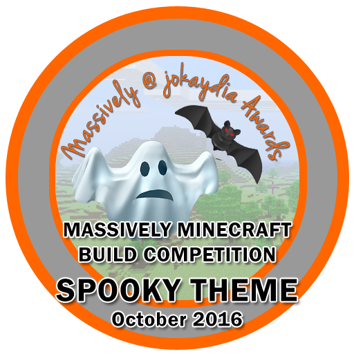 129. Massively Minecraft Build Competition – Spooky Theme – October 2016