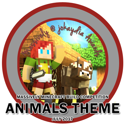 141. Massively Minecraft Build Competition – Animals Theme – July 2017