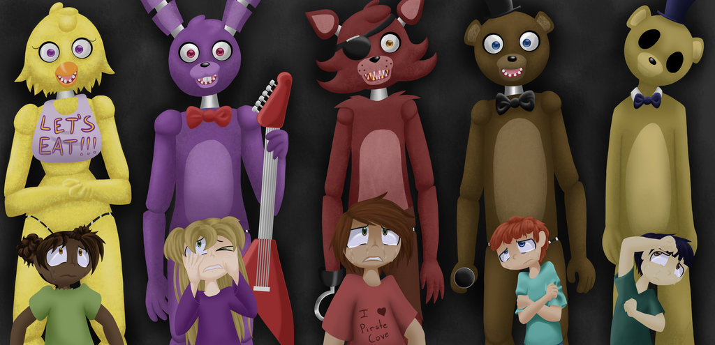 FNaF History Story: The Children (Coming soon)