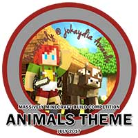 123. Massively Minecraft Build Competition - Animals Theme - July 2017
