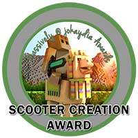 117. Scooter Creation Award Icon