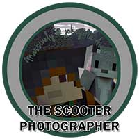 118. Scooter Photographer Award Icon