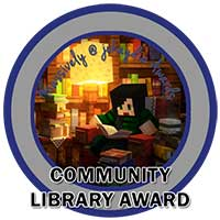119. Community Library Award Icon