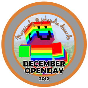 December OpenDay 2012