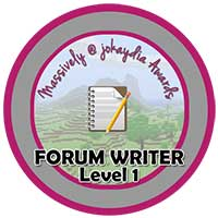 011. Forum Writer Level 1 – Make Your First Comment!
