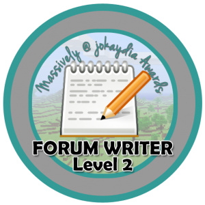 Forum Writer - Level 2