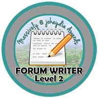 012. Forum Writer Level 2 – Welcoming Guild Members