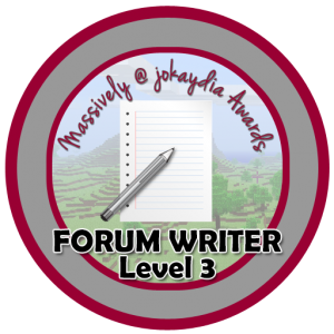 Forum Writer - Level 3