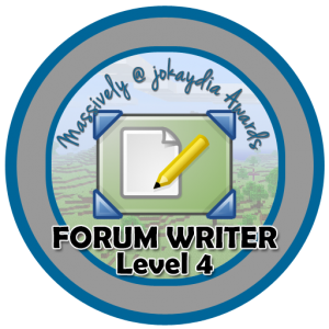 Forum Writer - Level 4