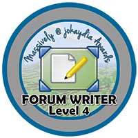 014. Forum Writer Level 4 – Discussion Starter