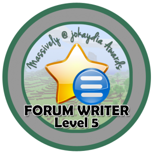 Forum Writer - Level 5