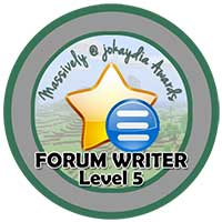 015. Forum Writer Level 5 – Discussion Leader