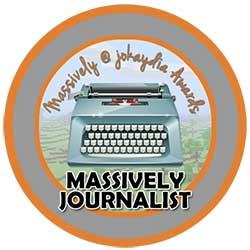 016. Massively Journalist Icon