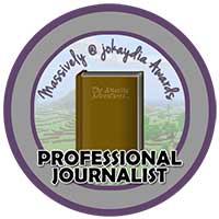 017. Professional Journalist's Award Icon