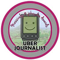 018. Uber Journalist's Award Icon