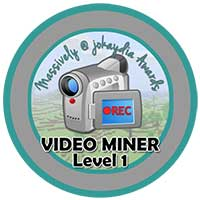 019. Video Miner Level 1 – Sharing Videos! Icon