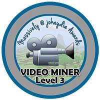 021. Video Miner Award Level 3 – Minecraft Film-maker Icon