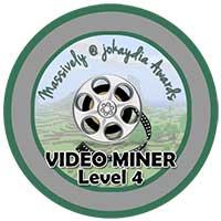 022. Video Miner Award Level 4 – Uber Film-maker Icon