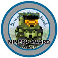 027. Miner's Award Level 3 – Fully Equipped House
