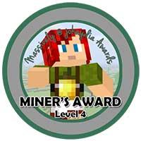 028. Miner's Award Level 4 – Team Builder Icon