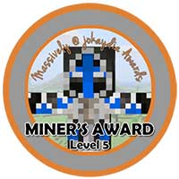 029. Miner's Award Level 5 – Building for the Community Icon