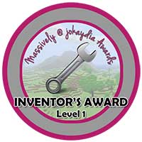 030. Inventor's Award Level 1 – Pistons, Water, Redstone or Lava