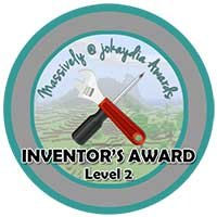 031. Inventor's Award Level 2 – Pistons and Redstone