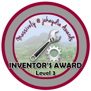Inventor's Award Level 3