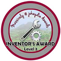 032. Inventor's Award Level 3 – Machine Maker