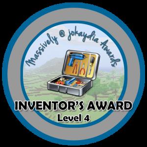 Inventor's Award Level 4
