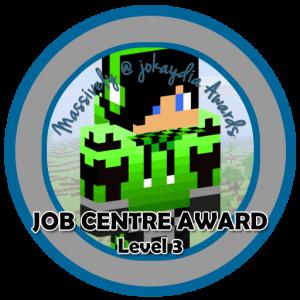 Job Centre Award Level 3