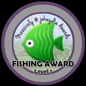 Fishing Award - Level 1