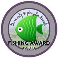 041. Fishing Award Level 1 – 20 Fish Icon