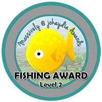 042. Fishing Award Level 2 – 40 Fish Icon