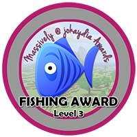 043. Fishing Award Level 3 – 100 Fish Icon