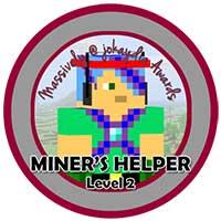 045. Miner's Helper Level 2 – Tutorial Builder Icon