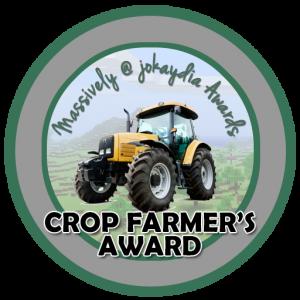 Crop Farmer's Award