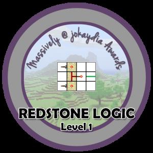 Redstone Logic - Level 1