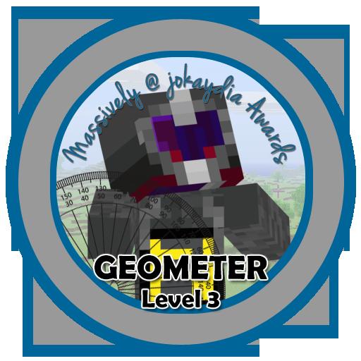 053. Geometer Level 3 – Volume Icon
