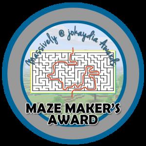 Maze Maker's Award