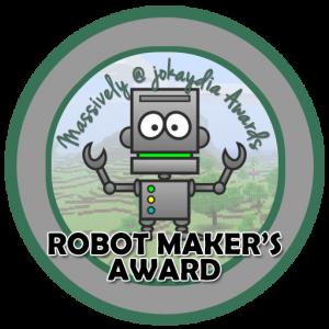 Robot Maker's Award
