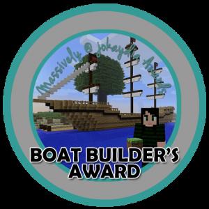 Boat Builder's Award