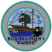 068. Boat Builder's Award Icon